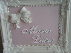 Quadro para maternidade produzido por Mônica Guedes