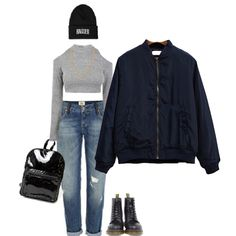 Keep the look modern with a fresh complexion and a statement letters hat -SheIn