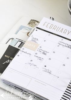 Heidi Swapp Memory Planner February ~ @jamiepate for @heidiswapp
