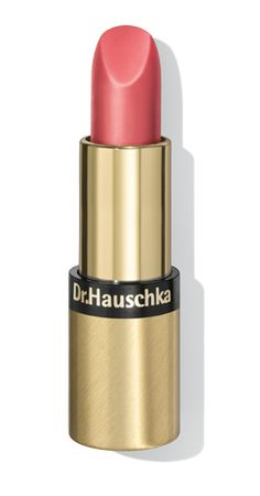Lipstick 01- Soft Coral. Rose, anthyllis, rosehip, almond oil, apricot oil, jojoba, rose wax, beeswax, candelilla wax and carnauba wax all come together to adorn and care for your lips all day. The rich compositions nurture and protect the lips. Available in 8 shades.