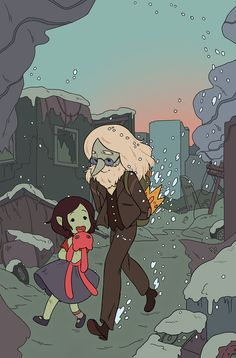 Tags: Adventure Time, Marceline Abadeer, Marcy, Vampire Queen, Ice King, Simon Petrikov, Hambo
