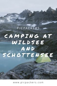 Camping at Wildsee and Schottensee Campsite, Switzerland, Trail, Hiking, Posts, Blog, Movie Posters, Walks, Camping