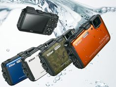 Nikon CoolPix AW100 Rugged Digital Camera with GPS