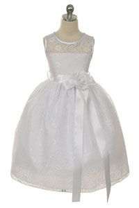 Flower Girl Dress Style 272 - ASSORTED SIZES AND COLORS