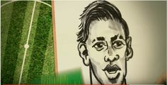 Caricatures on TV for BBC African Footballer of the Year drawn by caricaturist in London Simon Ellinas for BBC Television World Service up at Media City Caricatures, Bbc, African, Football, Cartoon, Soccer, Caricature Drawing, Cartoons, American Football