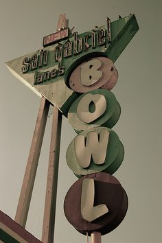 Bowling Alley sign