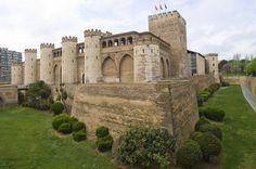 Forteresse d'Aljaferia à Saragosse - Châteaux d'Espagne XI ième siecle