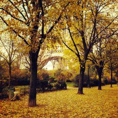 Paris  autum