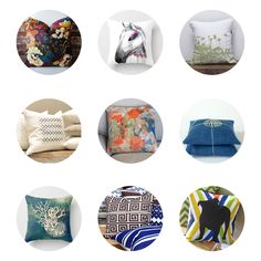 9 Fab Handmade Pillows. Which artist should we feature next?