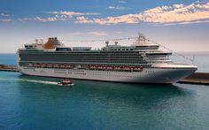 Descargar fondos de pantalla MV Ventura, crucero, barco, muelle, puerto, HDR