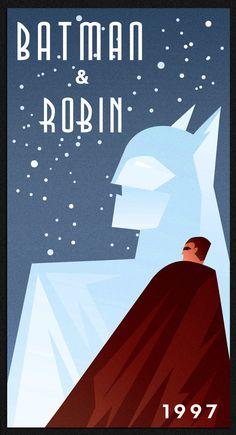 BATMAN AND ROBIN art deco by rodolforever.deviantart.com on @deviantART