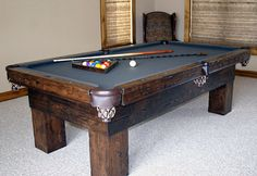 AMERICAN PRAIRIE COLLECTION - Pool Table