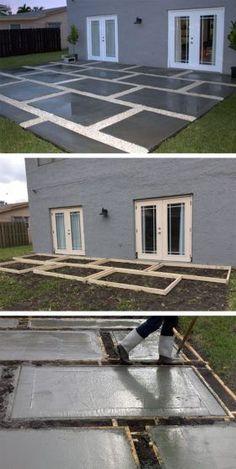 22 Best Concrete Patio Extension Ideas Images Gardens