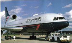 Vintage British Airways Lockheed L-1011 Airliner (Laggan Bay)