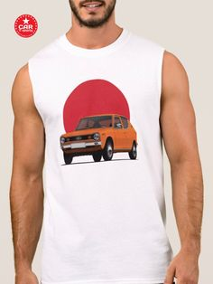 Get cool 70's classic car illustration Datsun 100A/Cherry with the Japanese rising sun printed on t-shirts and gifts. There are many colour options to choose from. Read more about my car illustrations in my blog.  #datsun100A #datsuncherry #classiccar #datsunshirt #retrocars #carillustration #datsun #datsuns #japanesecars #70scars #cartshirts #illustrations #automobiles Car Illustration, Illustrations, Car Colors, Rising Sun, Japanese Cars, Retro Cars, Classic Cars, Tank Man, Cherry