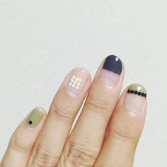 Have you discovered your nails lack of some fashionable nail art? Sure, lately, many girls personalize their nails with lovely … Love Nails, How To Do Nails, Pretty Nails, Fun Nails, Nagellack Trends, Minimalist Nails, Beautiful Nail Art, Nail Trends, Manicure And Pedicure