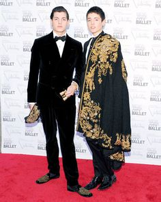 The NYC Ballet Fall Gala Honors Valentino - Peter Brant Jr. and Harry Brant