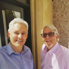 Selfie with author Henry James Korn who reveals details about his next novel - http://boffosocko.com/2016/09/09/henry-james-korns-next-book/