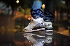 Nikko-Paulo-Q-Balaquiao---Air-Jordan-III Jordans Sneakers, Air Jordans, Air Jordan Iii, Nikko, Baskets, Shoes, Fashion, Places, Moda