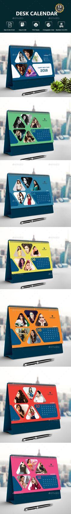 Desk #Calendar - Calendars Stationery