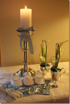 pynt barnedåp Candle Holders, Candles, Candlesticks, Candle Sticks, Candle Stands, Candle, Candle Stand