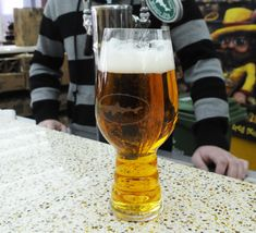 """From the """"Weekly Pint""""- the German glassware firm Spiegelau recently teamed up with Dogfish Head and Sierra Nevada to design an all-new chalice designed specifically for IPA (India Pale Ale). Craft Beer Fest, Beer Glassware, Barware, Beer Making Kits, Wine Making, Bacon Dishes, Dogfish Head, Beer Tasting, Best Beer"""