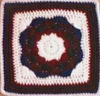 Octagon Medallion 12  Square