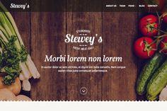 Steweys - best for bar & restaurant by bozekmichal on @creativemarket