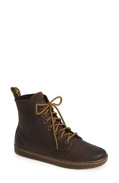 Dr. Martens 'Leyton - Eclectic Collection' 7-Eye Leather Boot (Women) available at #Nordstrom