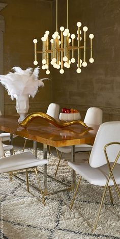 Glamorous Living | Jonathan Adler Lighting Fixture | cynthia reccord