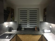 #fexi #vnitrnirolety #latkoverolety #rolety #denanoc #roletydenanoc #interier #inspirace #kuchyne #silver Conference Room, Kitchen Cabinets, The Originals, Table, Silver, Furniture, Home Decor, Restaining Kitchen Cabinets, Homemade Home Decor