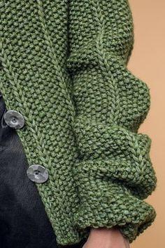 Kostenlose Anleitung: Jacke - Initiative Handarbeit  Jacke gestrickt