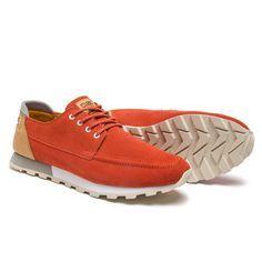 Desmond Sneaker // Fire Suede (US: 7)