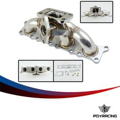 65.00$  Watch now - http://alijc7.worldwells.pw/go.php?t=32725789070 - PQY RACING-FOR AUDI TT A3 A4 S3 A6 1.8 20V STAINLESS STEEL T3 TURBO EXHAUST MANIFOLD NEW PQY3510