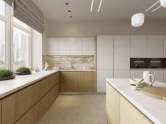 Интерьер дома в современном стиле, коттеджный поселок «Небо», 272 кв.м.