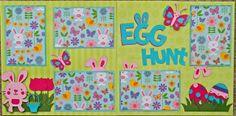 Cricut Crazy Scrapper: Egg Hunt using Create a critter 2