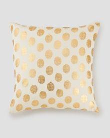 Metallic Dot Pillow