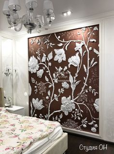 latest wall painting ideas for home to try 44 ~ mantulgan.me latest wall painting ideas for ho. Plaster Sculpture, Plaster Art, Plaster Walls, Wall Sculptures, Wall Art Designs, Wall Design, Mural Art, Wall Murals, Clay Wall Art
