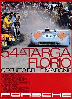 Porsche 908 Targa Florio 1970...poster for my dad.....