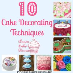 Cake Decorating Tutorials on Pinterest Cake Borders ...