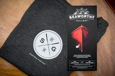 Seaworthy Gallery by Bluerock Design , via Behance