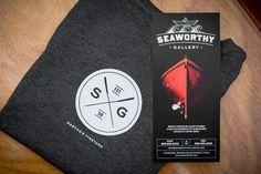 Seaworthy Gallery by Bluerock Design , via Behance