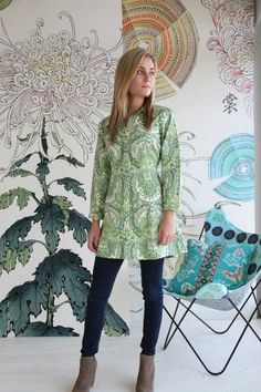 Amy Butler's Alchemy Studio Fabrics with The Liverpool Tunic