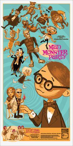Mad Monster Party by Mark Chiarello - Mondo