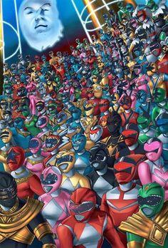 Power Rangers!
