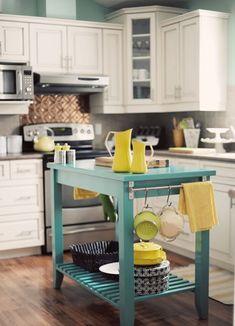 Small Kitchens with Island - Decoholic #kitchenisland