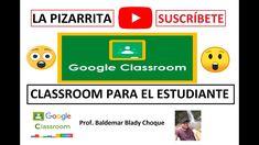 ESTUDIANTES INGRESANDO Y ENTREGANDO TAREA EN CLASSROOM (TUTORIAL) A Classroom, Google Classroom, Teaching Courses, Classroom Management, Spin, Virtual Class, School, Writing Activities, Distance