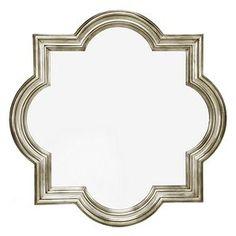 """Quatrefoil mirror (47"""" x 47"""") at zgallerie"""
