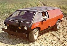 Brubaker Box. Early 70's concept based on the VW beetle chassis, later you could buy it as a kit.