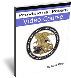 Provisional Patent Video Course - This is a video series teaching you how to fill out your provisional patent application.  www.digitalbookshops.com  #Business #Investing #SmallBiz #Entrepreneurship